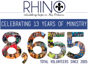 rhino 8655 volunteers